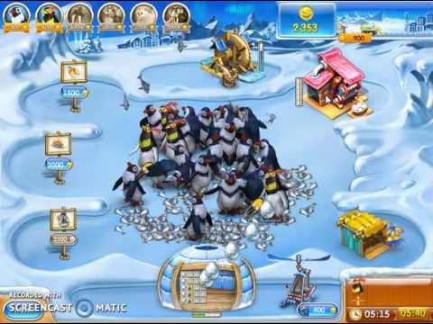How To Play Farm Frenzy 3 - Ice Age Game Level  65 - 66
