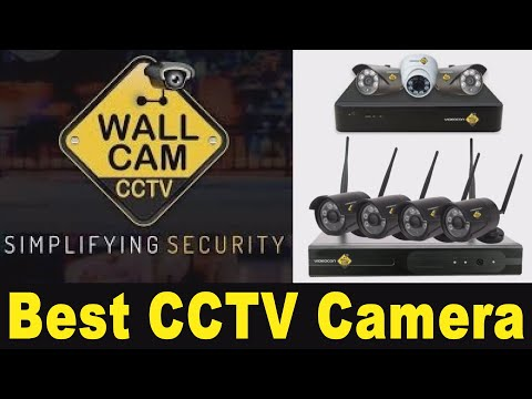 CCTV II WALL CAM II LAUNCHED II VIDEOCON II  SECURITY SURVEILLANCE