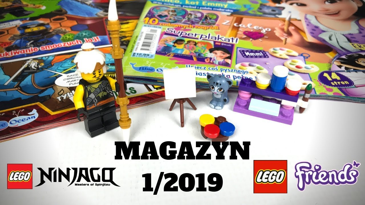 Magazyny Lego Ninjagofriends 12019 Recenzja Youtube