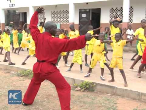 Cameroonian promotes Chinese martial arts in Africa