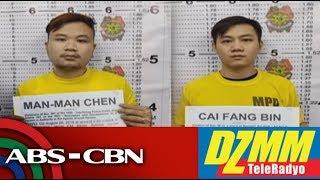 2 Chinese, huling nagmamaneho nang lasing sa Maynila | DZMM