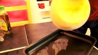 видео-рецепты - Pizza ai funghi, ricotta e mortadella
