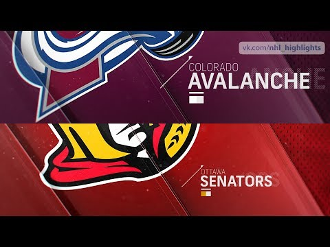 Colorado Avalanche vs Ottawa Senators Feb 6, 2020 HIGHLIGHTS HD