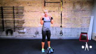 Unapologetically Powerful Demo: Kettlebell Double Push Press