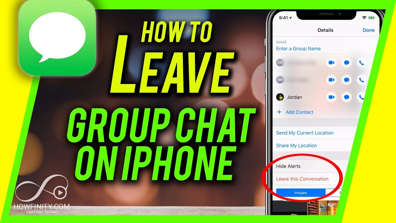 How to remove yourself from a group chat on whatsapp