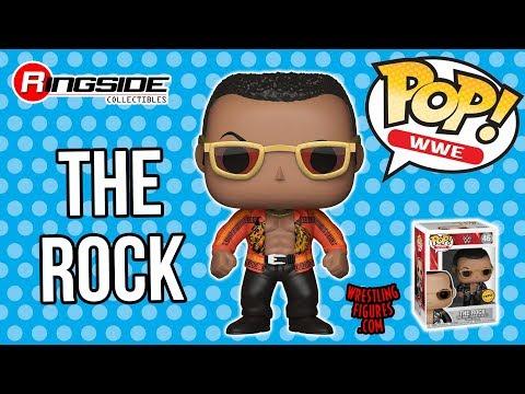 WWE FIGURE INSIDER: The Rock - WWE Pop Vinyl