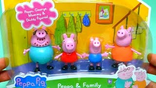 Peppa Pig Figures Toys Family