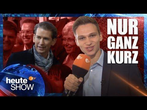 Fabian Köster in Österreichs Wahlkampf | heute-show vom 13.10.2017