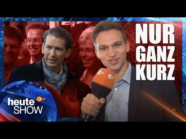Fabian Köster in Österreichs Wahlkampf   heute-show vom 13.10.2017