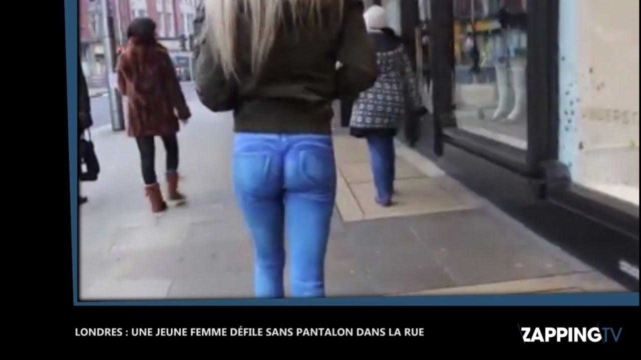 Londres Un mannequin se balade sans pantalon en pleine rue 39f5fce5aa0