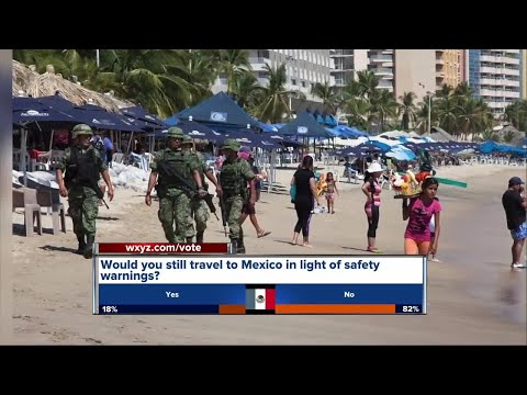 New travel warning for Americans in Mexico
