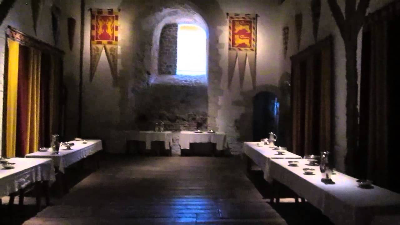 dining room in henry ii s great tower dover castle youtube an evening of extravagance amp enchantment at hearst castle