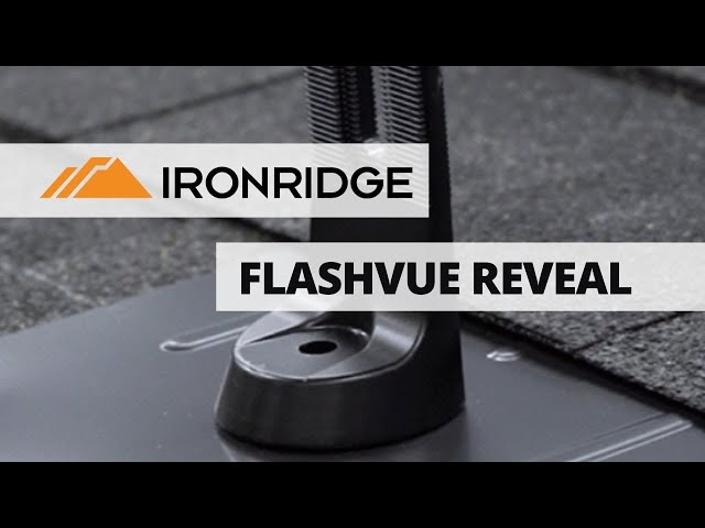 FlashVue | IronRidge New Product Reveal | Presented By Soligent