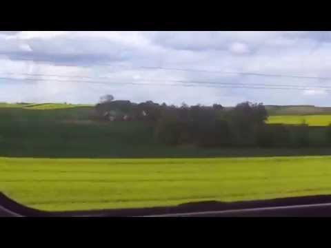 Traveling by train in Poland