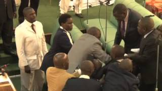 MP SSEMUJJU EJECTED OUT OF PARLIAMENT MAURICE OCHOL _UGANDAN JOURNALIST