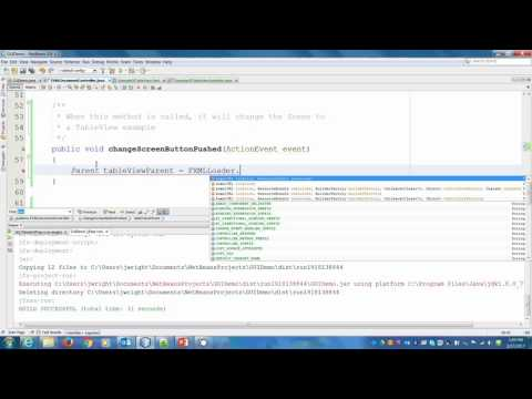 How to add libraries to JavaFX Gluon Scene Builder videominecraft ru