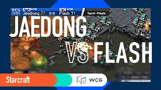 [2010 GF]Starcraft: Semi-Final/Set 1- Jaedong (KR) vs.  Flash(KR) /English