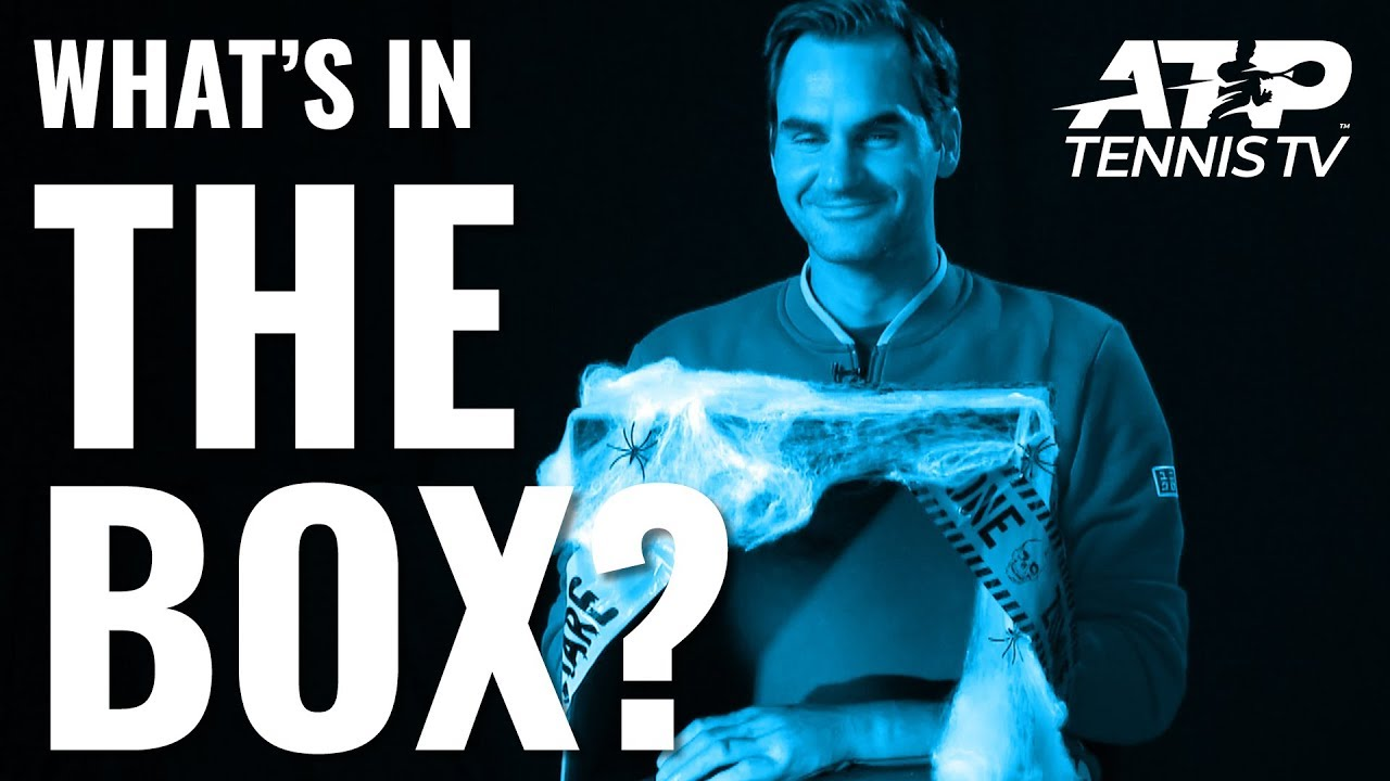 Halloween 'What's in the Box' Challenge: ATP Tennis Style ????