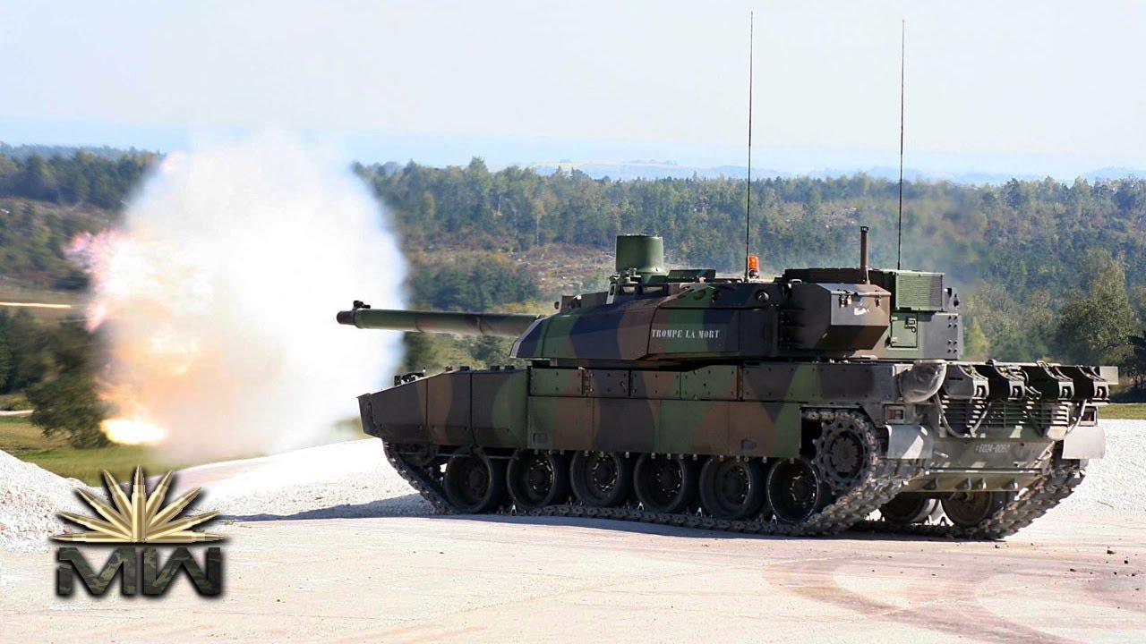97a1417fa5b4 AMX Leclerc ⚔ French Main Battle Tank  Review  - YouTube
