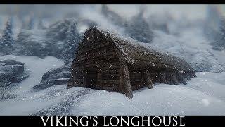TES V - Skyrim Mods: Viking's Longhouse