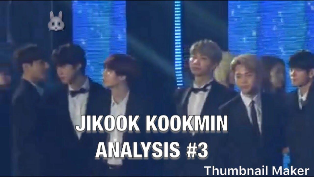 JIKOOK KOOKMIN analysis #3(190105 golden disk awards) ENG SUBS