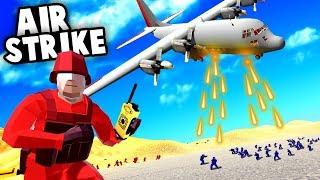 Epic AC-130 Plane AIRSTRIKE Destroys Entire Enemy Base! (Ravenfield Best Mods)