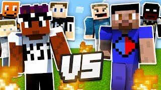 THE SIDEMEN BATTLE IN MINECRAFT - SIDECRAFT #4 (SIDEMEN GAMING)