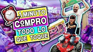 Compro TODO lo que TOQUE con los OJOS VENDADOS Challenge *FT tv Ana Emilia