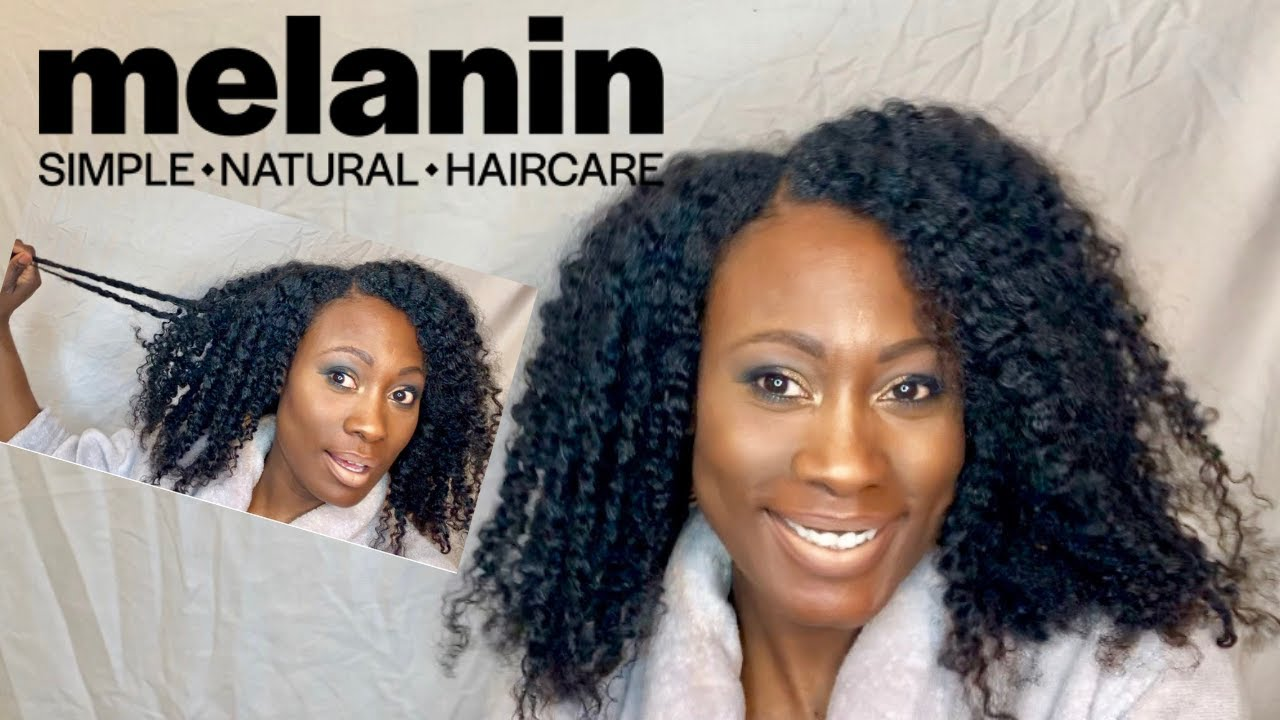 Melanin Hair Care - Type 4 Natural Hair | TWIST OUT DEMO/RESULTS