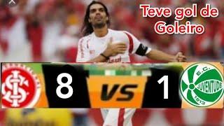 Inter massagrou | Internacional 8 x 1 Juventude - Melhores Momentos - Gaúchão 2008