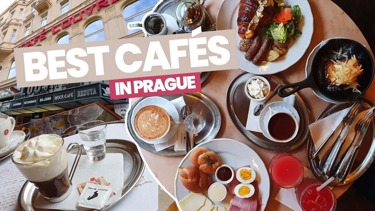 BEST CAFÉS In PRAGUE | Café Savoy, Café Louvre and Café Imperial