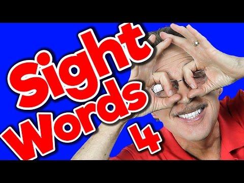 New Sight Words 4 | Sight Words Kindergarten | High Frequency Words | Jump Out Words | Jack Hartmann