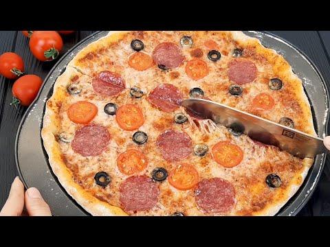 🍕PİZZA XEMİRİ, Pizza Sousu Ve Möhteşem Pizzanın Hazırlanması❗