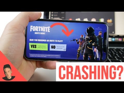 Fortnite IOS CRASHING EXPLAINED! iPhone 5s, 6, 6 plus, iPad mini 2,3 & Air
