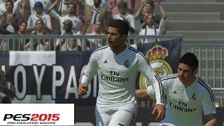 Probando PES 2015 - Demo, Equipos, Contenido y Partidazo Real Madrid Vs Bayern Munich Gameplay