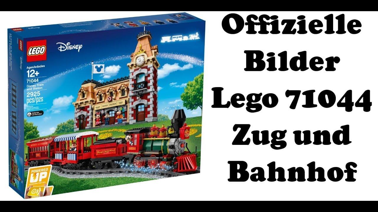 Alle offiziellen Bilder Lego 71044 - Disney Zug und Bahnhof