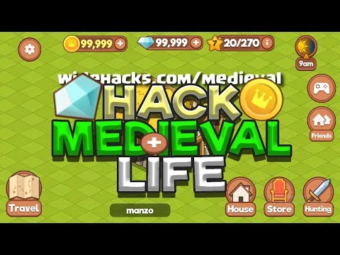 Medieval Life Hack - Free Medieval Life Cheat iOS and Android