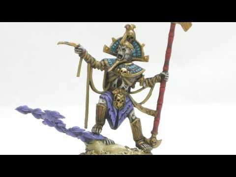 How to Paint Tomb King