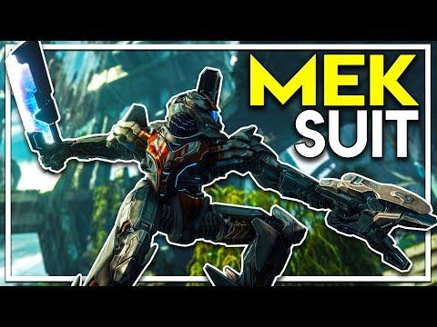 Crafting MECH SUITS! - Massive Sword and Laser MEK! (Ark Extinction DLC Gameplay Ep 26)