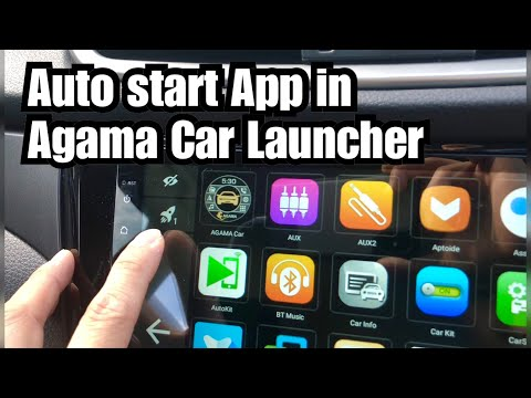 Make Your App Starts Automatically In Agama Car Launcher