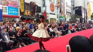 2016年渋谷音楽祭ファッションショースペシャルゲスト 西内まりやさん.