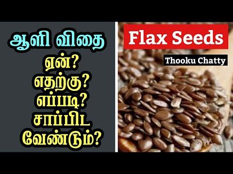 ஆளி விதை செய்யும் அற்புதங்கள் Flax Seeds Benefits in Tamil