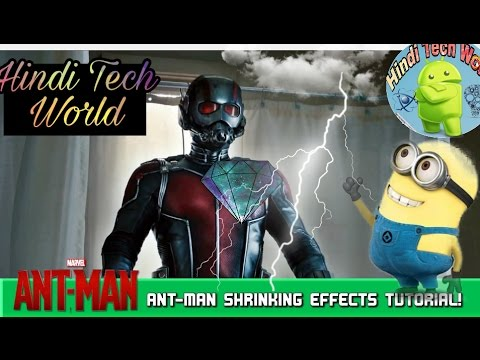 Ant Man shrinking effect  android KINEMASTER\| How to make video like Ant Man| streaming vf