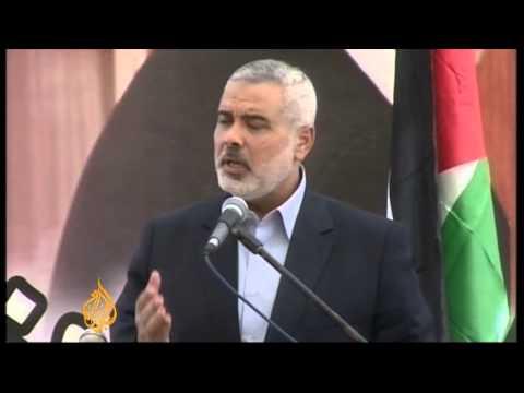Qatari emir on historic visit to Gaza Strip
