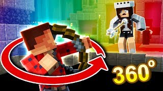 My CRUSH Did a Trickshot?! (Minecraft Murder Mystery Funny Moments)