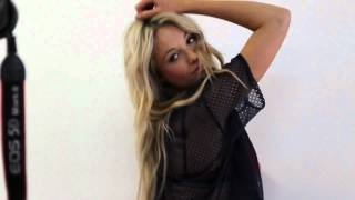Katrina Bowden FHM Photoshoot May 2012 Behind The Scenes