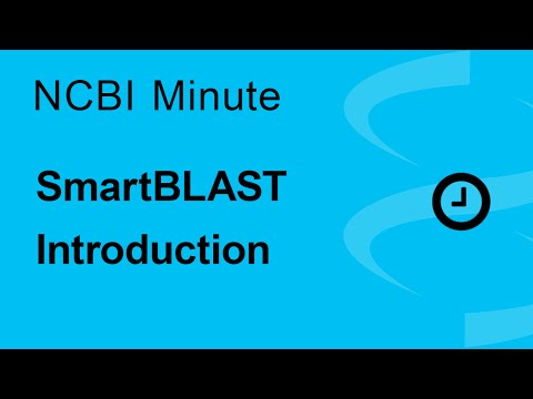 The NCBI Minute: SmartBLAST Introduction