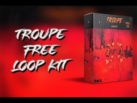 (FREE) Trap Loop Kit/Pack 2019 - Troupe (Cubeatz, Murda, Travis Scott, Frank Dukes Type Samples)