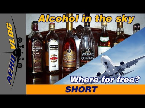 Alcohol On Plane - When And How Much Can We Drink? | AeroVlog [ENG+SUBS]