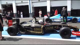 Formule 1 - start